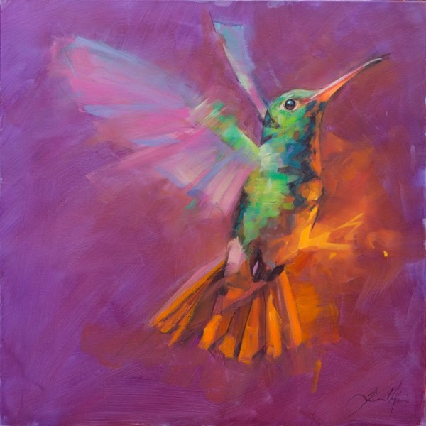 Jamel Akib, Humming Bird 4, 2019