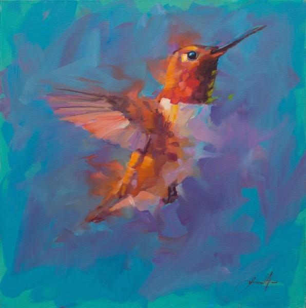 Jamel Akib, Humming Bird 5, 2019