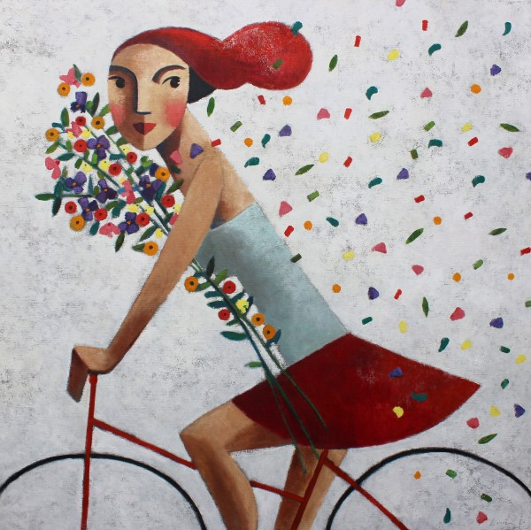 Didier Lourenço, I Don't Care (White), 2019