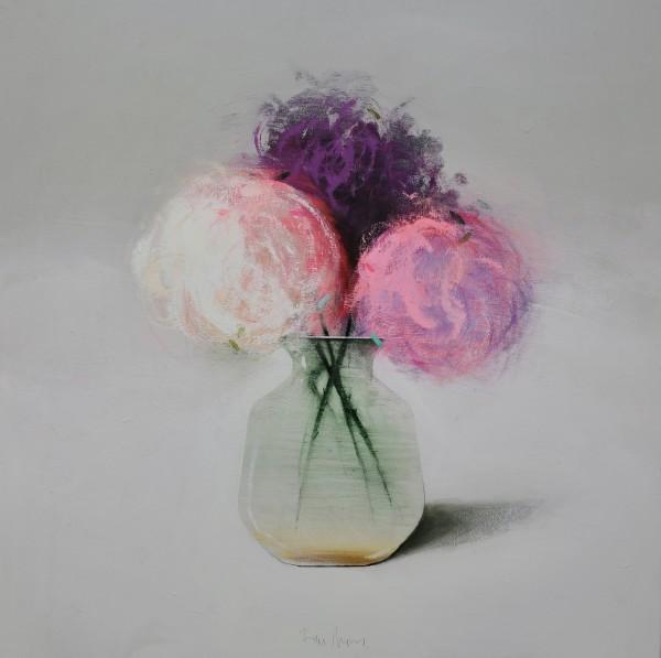Fran Mora, Flores Lilas (Lilacs), 2021