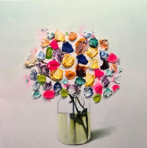 Fran Mora, Flores No.1, 2020