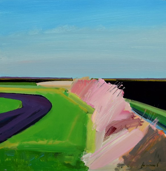 Fred Ingrams, Bend in the road, 2018