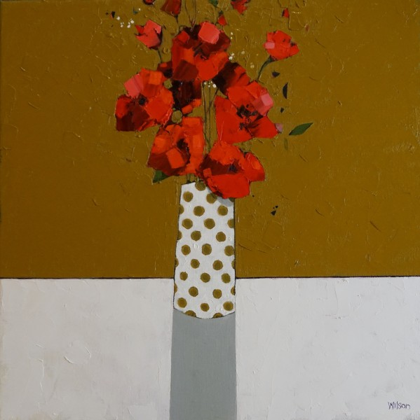 Gordon Wilson , Poppy Arrangement, 2019