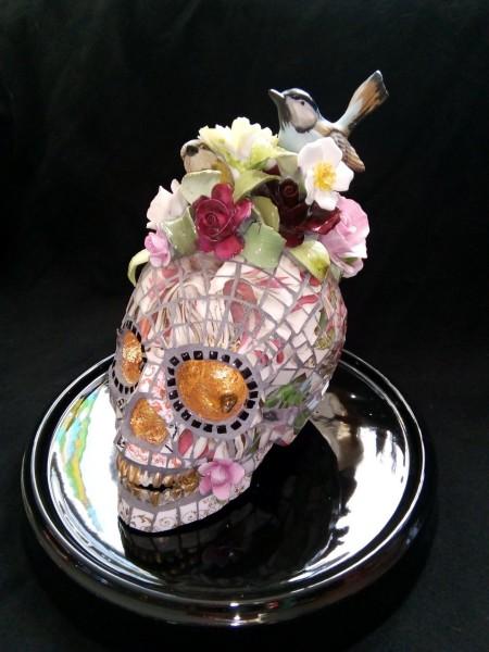 Susan Elliott, Skull of a May Queen, 2021