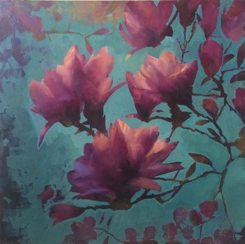 Jamel Akib, Magnolias, 2019
