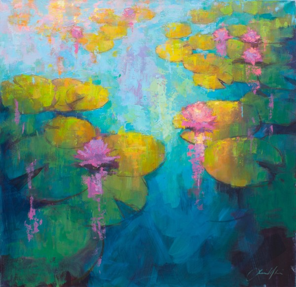 Jamel Akib, Waterlilies III, 2019