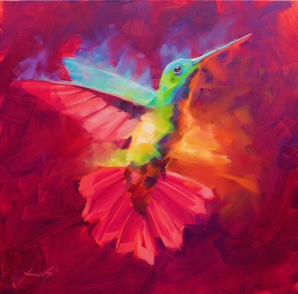 Jamel Akib, Hummingbird - Vibrant, 2020
