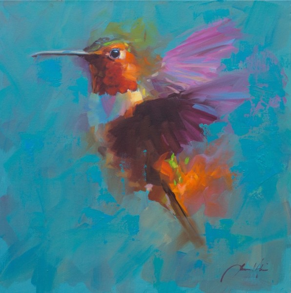 Jamel Akib, Humming Bird 8, 2019