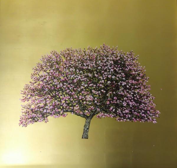 Jack Frame, Garden Lady, Cherry Blossom , 2019