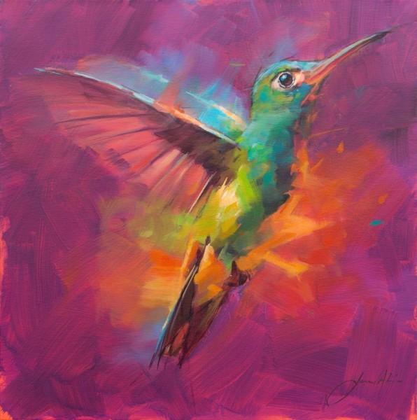 Jamel Akib, Humming Bird 6, 2019