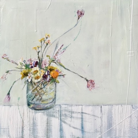 Jane Skingley, Flowers No.4, 2019
