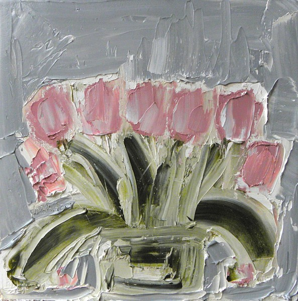 Alison McWhirter, The Tulips, after Sylvia Plath, 2019