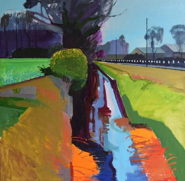 Fred Ingrams, Ditch on Mildenhall Fen, 2016