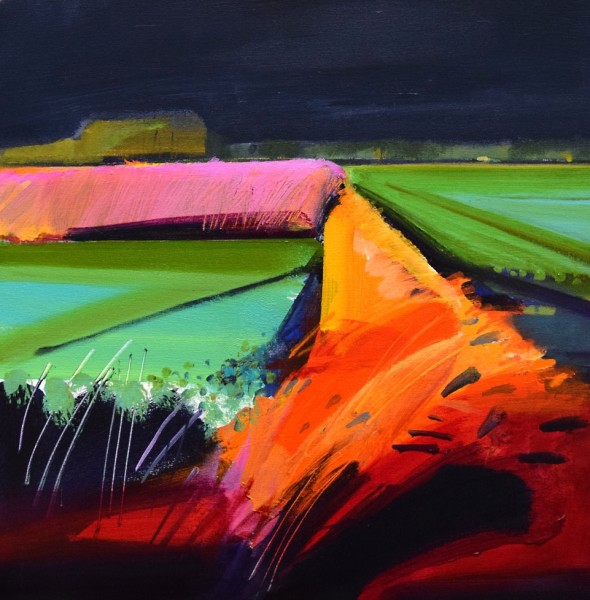 Fred Ingrams, Windy Evening, 2018