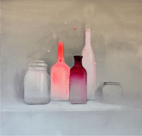 Fran Mora, Botellas , 2018