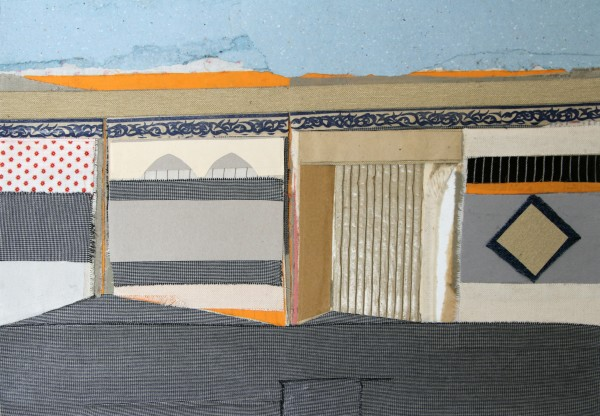 Housing #11, collage on paper, 49.7 x 35.3 cm 2017