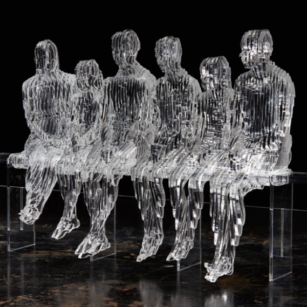 Six on a Bench, 2015