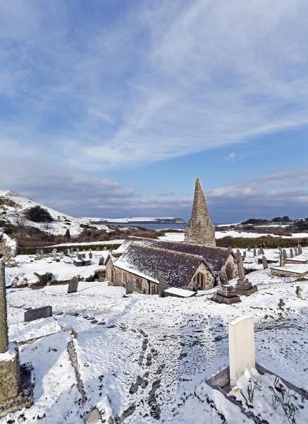 Winter Morning, St Enodoc