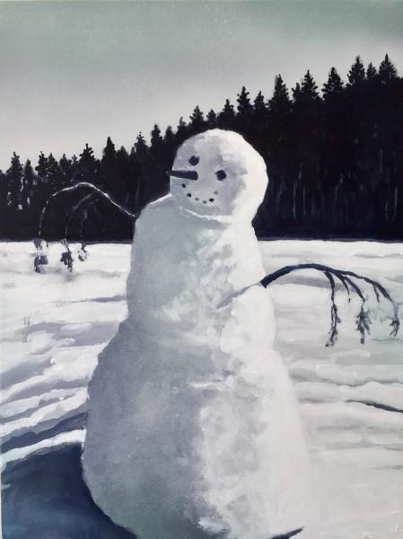 Joakim Allgulander, Snowman, 2017