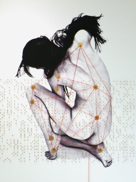 Shadi Rezaei, Geometry of Pain #2, 2016