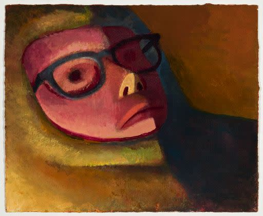 Nat Meade, Face Shadow, 2013
