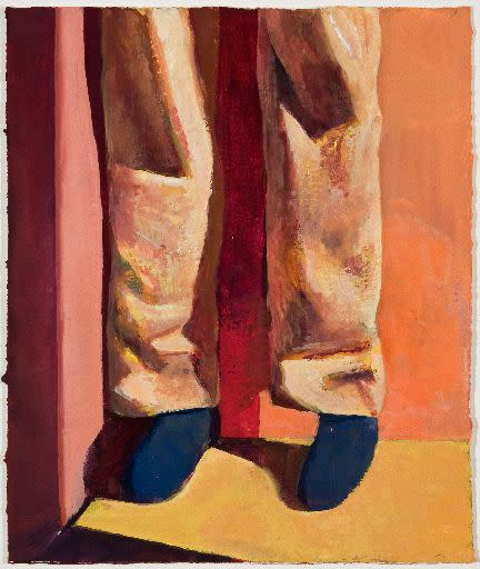 Nat Meade, Leg Shadow, 2013