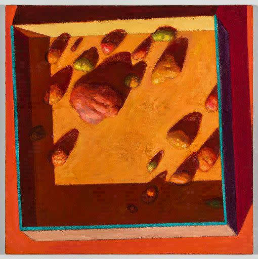 Nat Meade, Box of Rocks, 2015