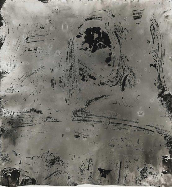 Wang Dongling 王冬龄, More than White, Mist 非白.云, 2013