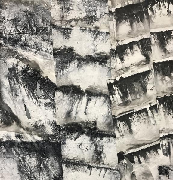 Zheng Chongbin 郑重宾, The Spinning of the Segments 震动的碎片, 2017