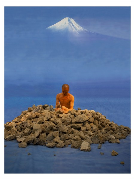 He Yunchang 何云昌, Dream Journey—From Fukuoka Asian Art Museum to Mount Fuji 卧游-从福冈美术馆到富士山, 2009