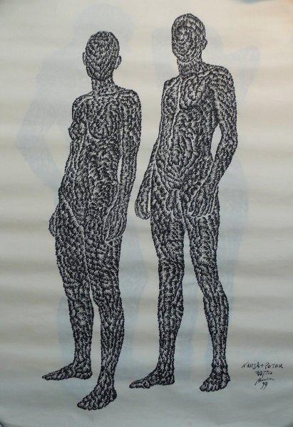 Huang Zhiyang 黄致阳, Peter+Nadja Lover's Library 恋人絮语, 1998-2000