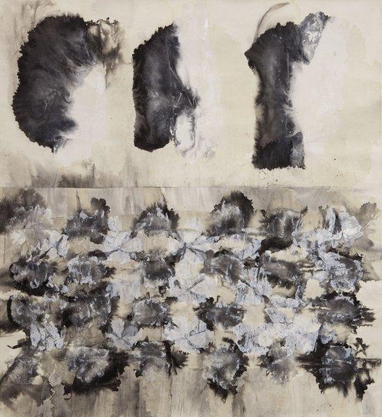 Zheng Chongbin 郑重宾, Blot No. 5 墨迹 5号, 2000