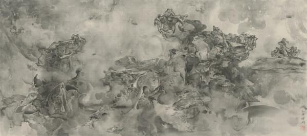 Tai Xiangzhou 泰祥洲, Vaporous Rocks 卷石吐氤氲, 2016