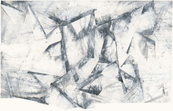 Zheng Chongbin 郑重宾, Undulation of the Fracture 起伏的裂痕, 2017