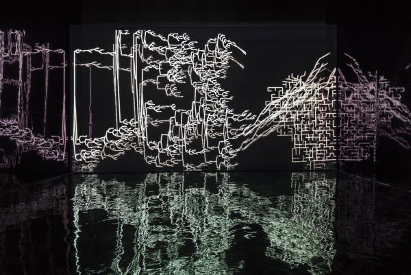 Zheng Chongbin 郑重宾, Chimeric Landscape 运行中的异化之景, 2015