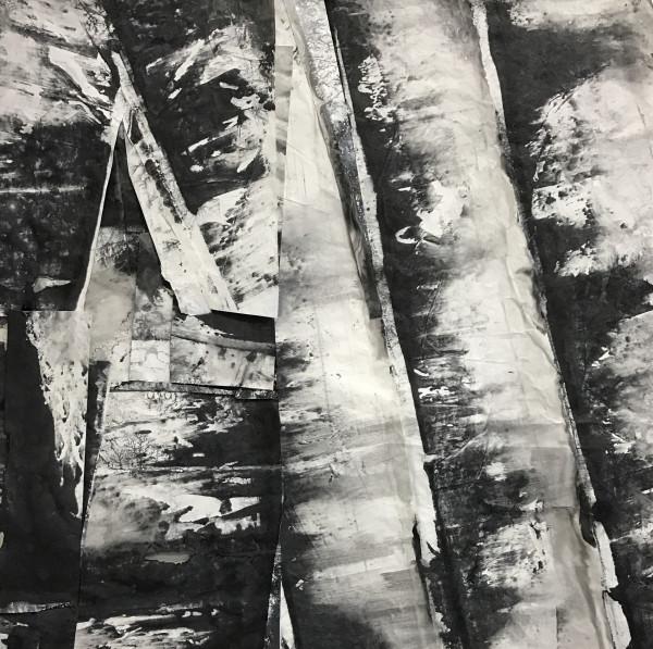 Zheng Chongbin 郑重宾, Eroded Strata 风化的断层, 2017