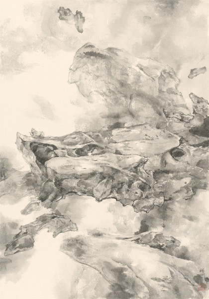 Tai Xiangzhou 泰祥洲, Mending the Sky (i) 天漏谁能补(I), 2015