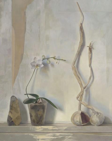 Susan Angharad Williams, Orchid, Flint, Garlic Stems
