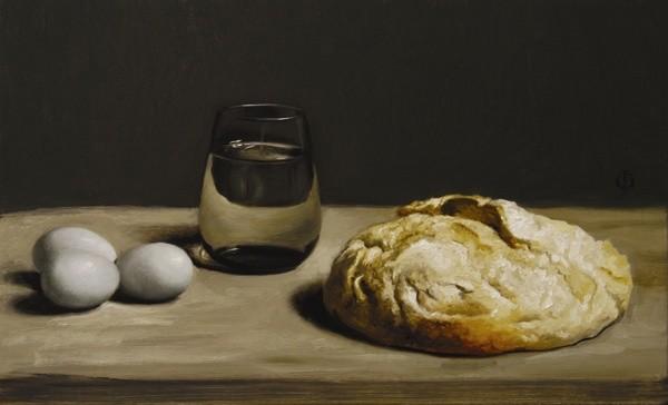James Gillick, Blue Eggs & Bread
