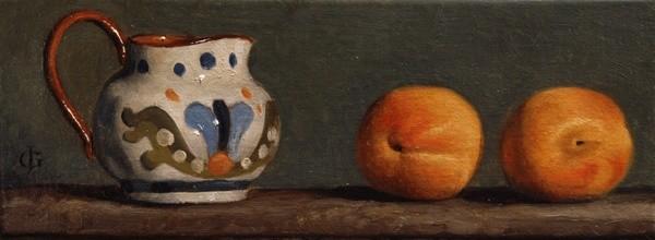 James Gillick, Jug and Nectarines, 2009