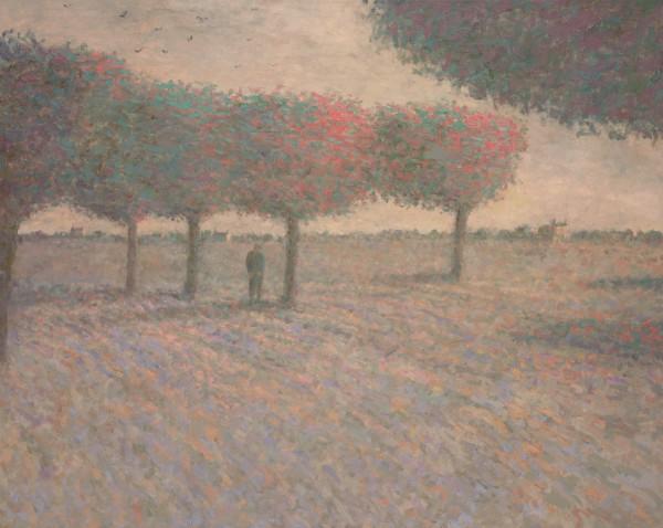 Nicholas Turner, Orchard at Dusk