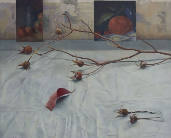 Susan Angharad Williams, Rose Hips, Red Leaf