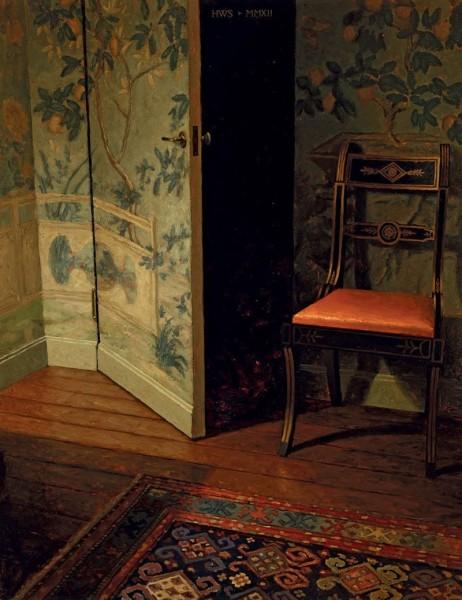 Harry Steen, Wallpaper Room - Night