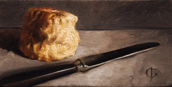 James Gillick, Scone and Knife