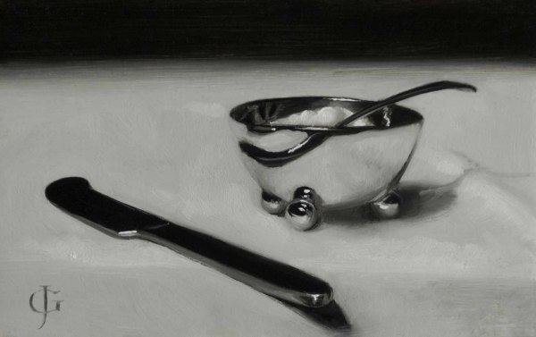 James Gillick, Sugar Bowl & Knife