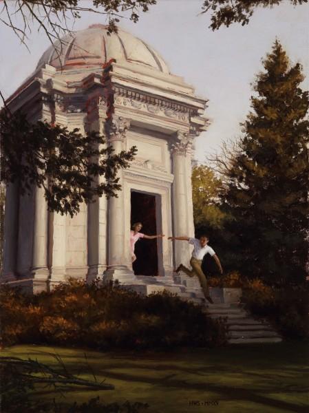Harry Steen, Mausoleum (Study)
