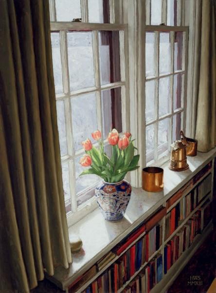 Harry Steen, Window Bookshelf