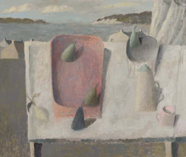 Nicholas Turner, Table with Pitcher and Pears