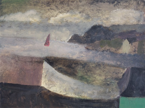 Nicholas Turner, White Boat and Sail