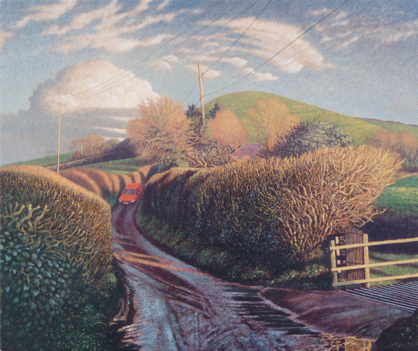 James Lynch, Messages in the Landscape, The Post Van, Parrock Hill
